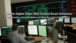 Christie Digital Video Wall Control Room Solutions