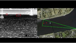 Sightlogix's Thermal LWIR SightSensor detects targets over water