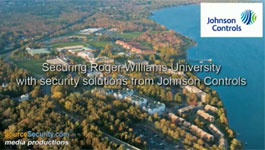 Johnson Controls P2000 Security Management System Controls Access at RWU, Rhode Island, USA