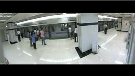 Panorama 180°: Subway Station