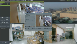 Surveon NVR3000 features built in video intelligence