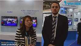 VIVOTEK introduces H.265 codec and PoE security cameras at IFSEC 2015