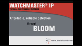 DRS Infrared's WatchMaster IP Thermal Surveillance for Low Light and Blooming Conditions