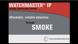 DRS Technologies WatchMaster IP Elite Thermal Imaging Camera for Low-Light Surveillance