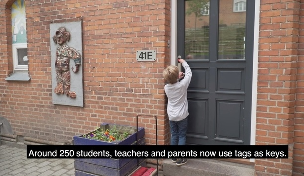 ASSA ABLOY secures Vejle school with its SMARTair wireless access control technology