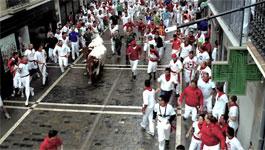 Avigilon 5k Pro captures Running of the Bulls in Spain
