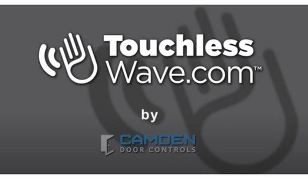 Camden Door Controls announces the launch of touchlesswave.com