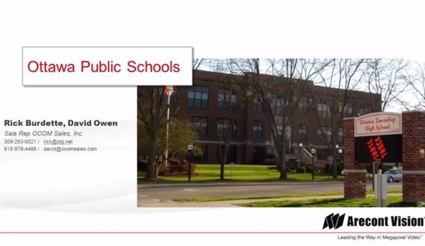 Arecont Vision case study - Ottawa Public Schools, Canada