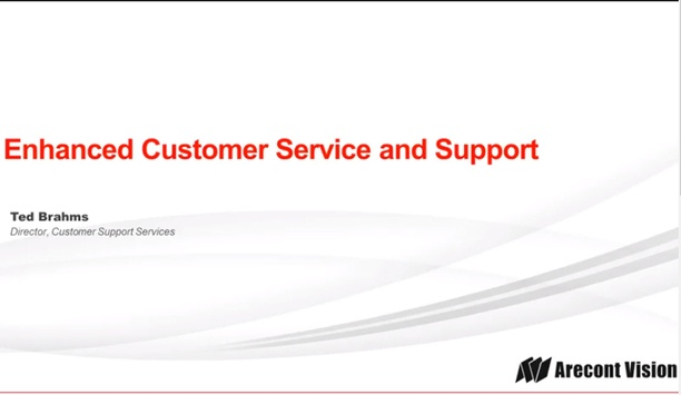 Arecont Vision Enhance Customer Support Services