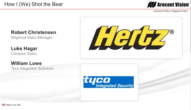 Arecont Vision case study - Hertz and Tyco