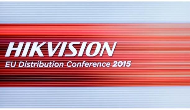 Hikvision EU Distribution Conference 2015