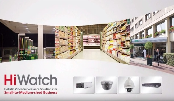 Hikvision's HiWatch video surveillance solutions for small-to-medium sized enterprises