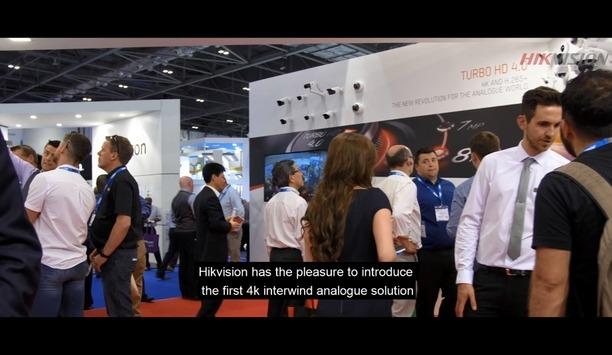 Hikvision at IFSEC International 2017 - Turbo HD 4.0 solution