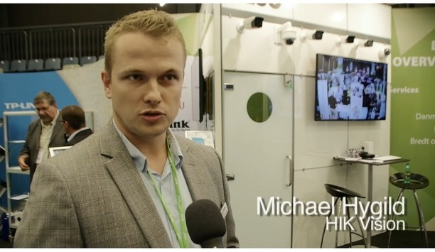 Interview with Michael Hygild from Hikvision (Denmark) at ALSO event