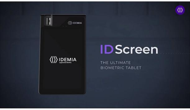 IDEMIA ID Screen, The Ultimate Multi Applications Biometric Tablet