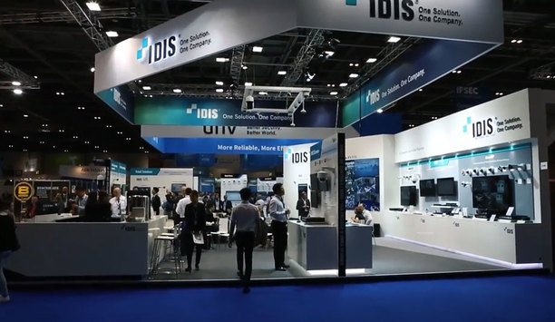 IDIS showcases its total solution at IFSEC 2018
