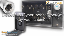 CyberLock's CyberKey Vault Key Management Cabinets to Control CyberKey Smart Keys
