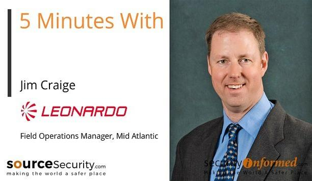 License Plate Recognition: '5 Minutes With' Video Interview with Jim Craige from Leonardo