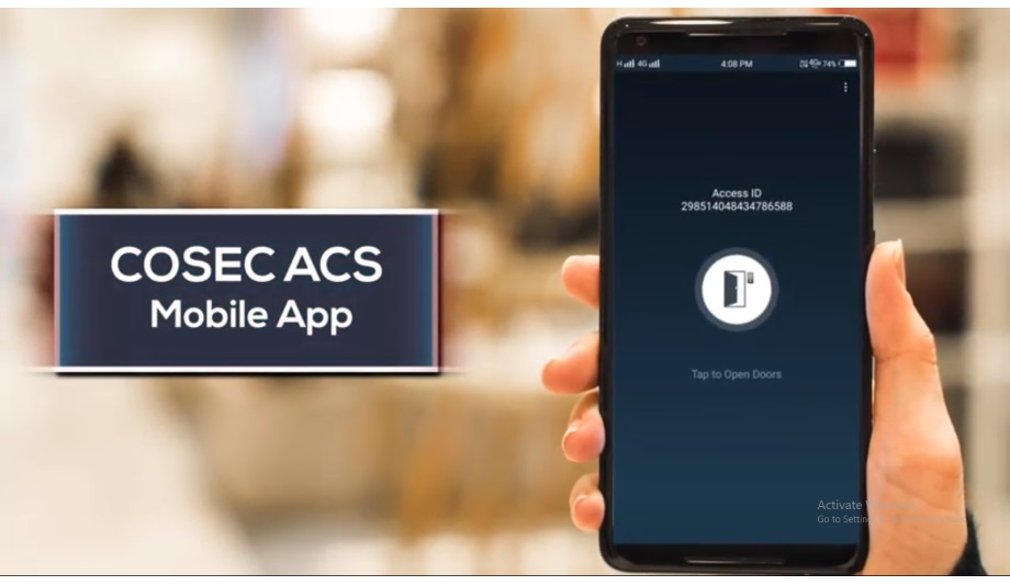 Matrix's COSEC ACS App With Tap-and-Go And Shake-and-Go Feature
