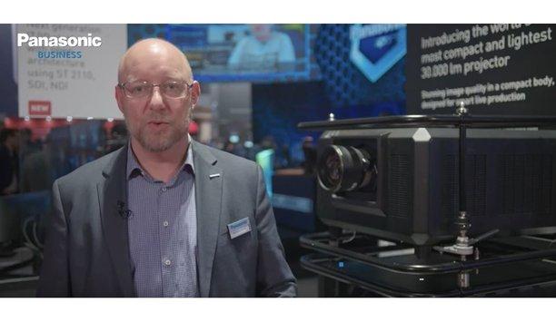 Panasonic launches the PT-RQ35 30.000 lumens 4K laser projector