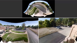 Optera Panoramic Camera - 270° Video - Roof
