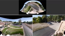 Optera Panoramic camera - 270° video - Roof