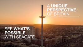 British Airways i360 reaches unprecedented heights, helped by Seagate Skyhawk