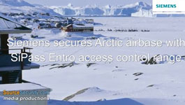 Greenland's Thule Airport Secured with Siemens SiPass Entro Access Control System