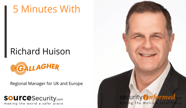 Access control, perimeter security and intruder alarms: '5 Minutes With' Video Interview with Richard Huison from Gallagher