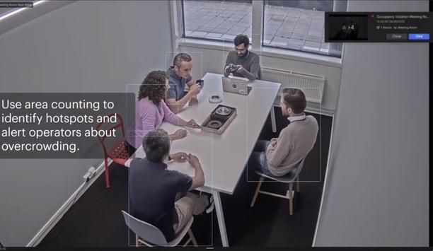 Vaion's vcore video management system helps to achieve Social distancing compliance