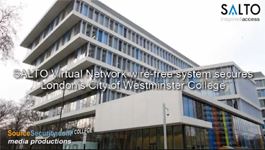City of Westminster College, London goes Keyless with SALTO Virtual Network Wire-Free Access Control System