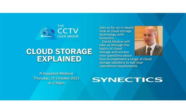 An introduction to Cloud CCTV with Synectics