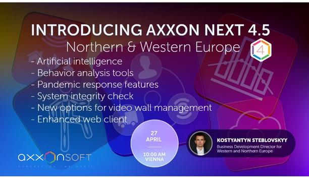 Introducing Axxon Next 4.5 - Northern & Western Europe