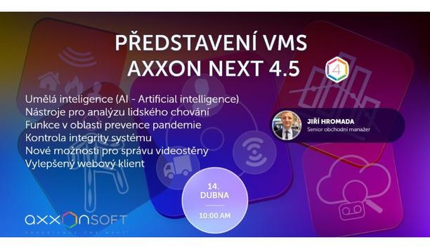 Introduction of VMS Axxon Next 4.5 - Czech & Slovak