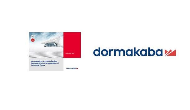 Webinar: Dormakaba on Incorporating Access in Design