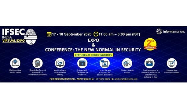 IFSEC India 2020 Virtual Expo September 17-18