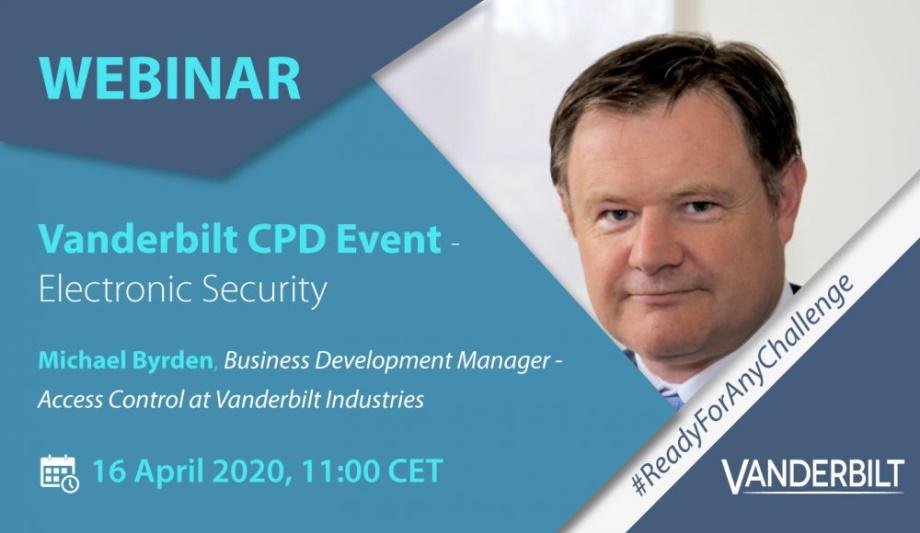 Vanderbilt CPD Event (Electronic Security)