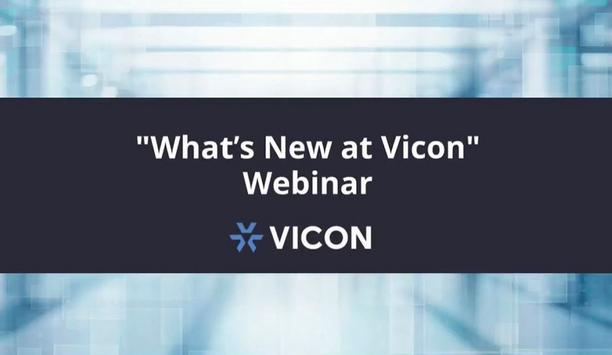 What's New at Vicon Industries Webinar
